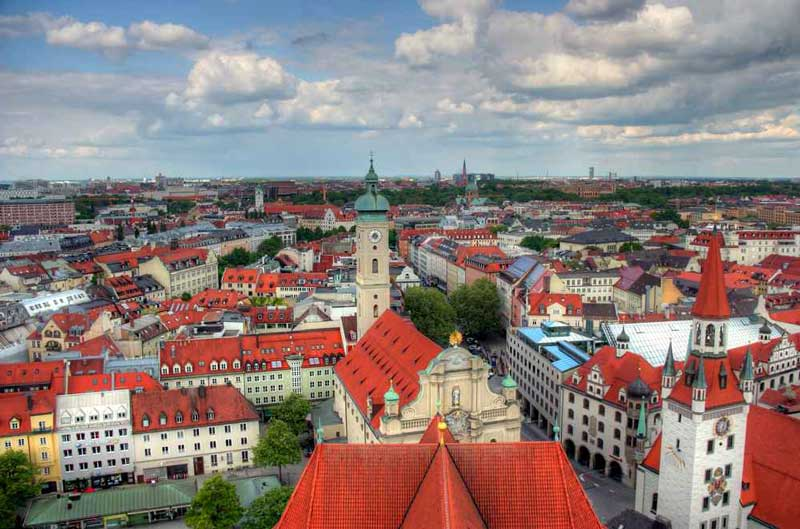 Hospedarse en Múnich