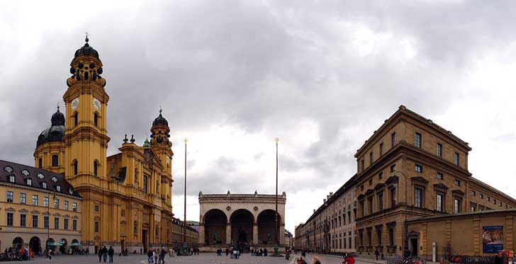 Plaza Odeonplatz