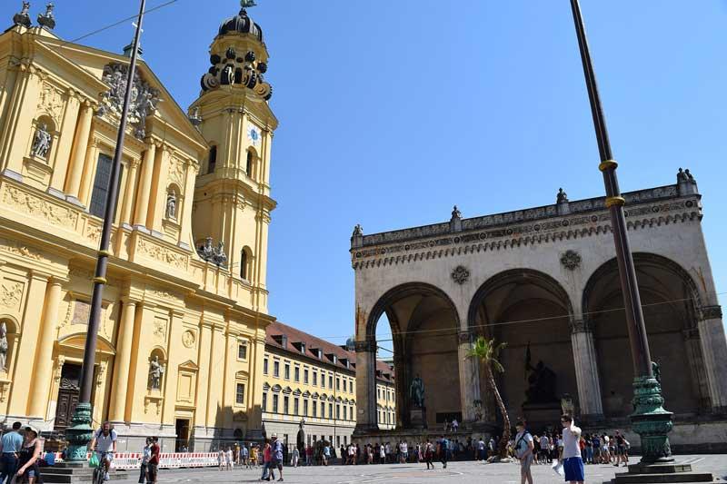 Plaza Odeonsplatz