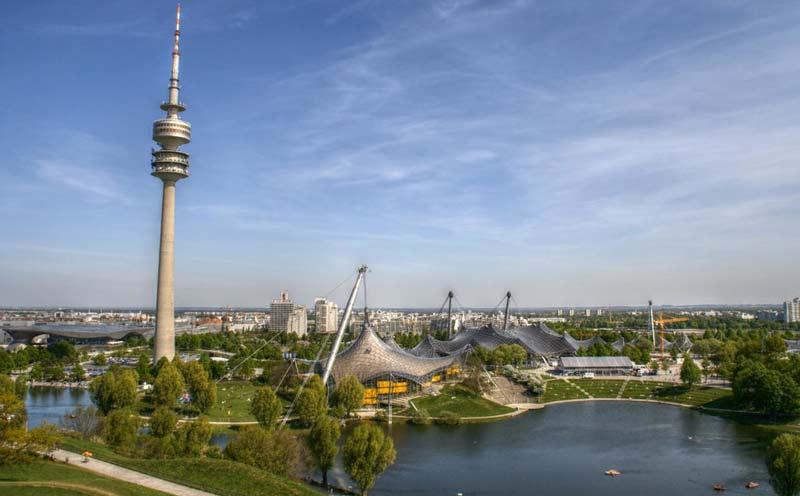 Vista del Olympiapark