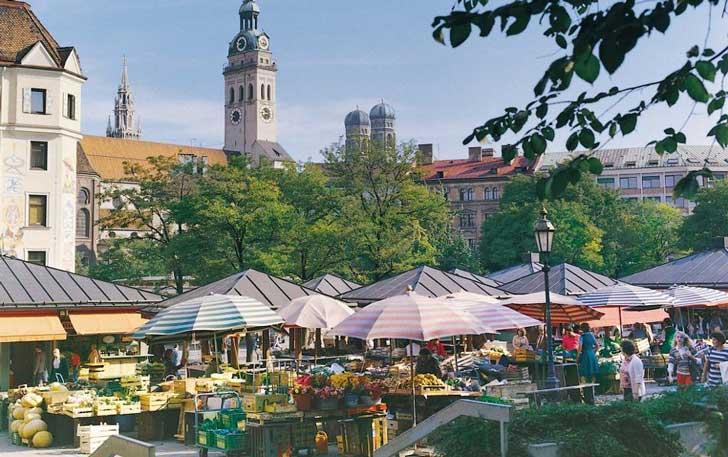 Mercado de viandas Viktualienmarkt